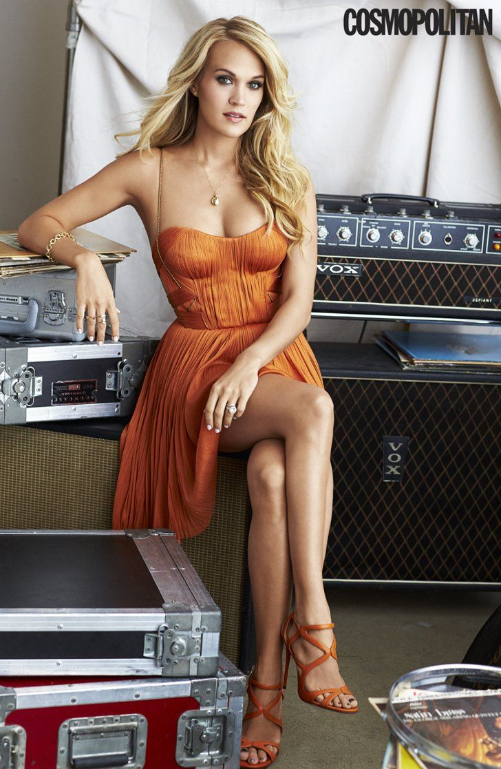 """Pin for Later: Carrie Underwood on """"Everyone"""" Getting Divorced: """"They're Dropping Like Flies!"""""""