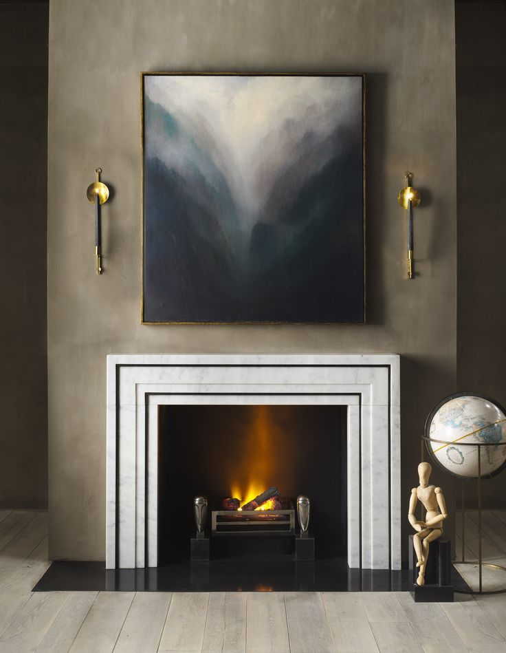25+ best ideas about Contemporary fireplace mantels on Pinterest ...