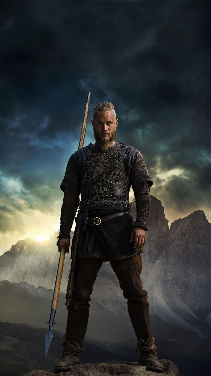 Vikings, tv show, Ragnar, Travis Fimmel, 720x1280