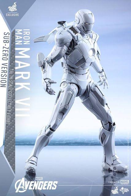 Galaxy Fantasy: Figura de acción de Iron Man Mark VII version Sub-Zero