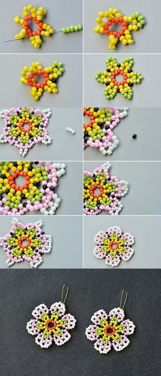 Flower picture tute for experienced beaders