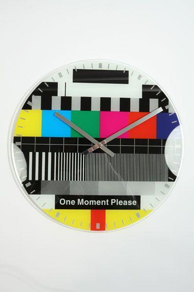 Stunning Funky test card clock