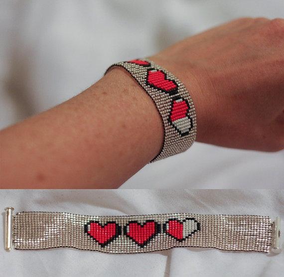 Link's hearts bracelet