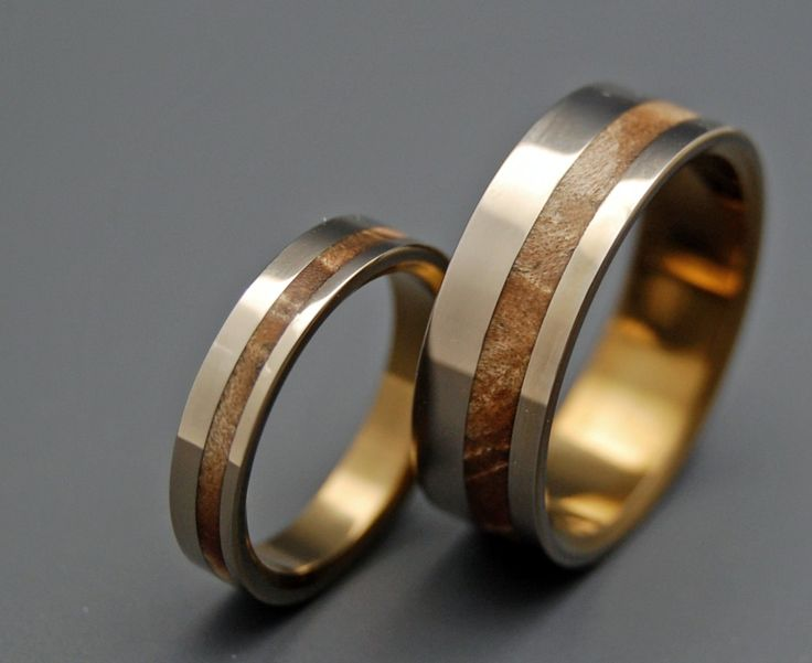 Silver Faun - Wooden Wedding Rings