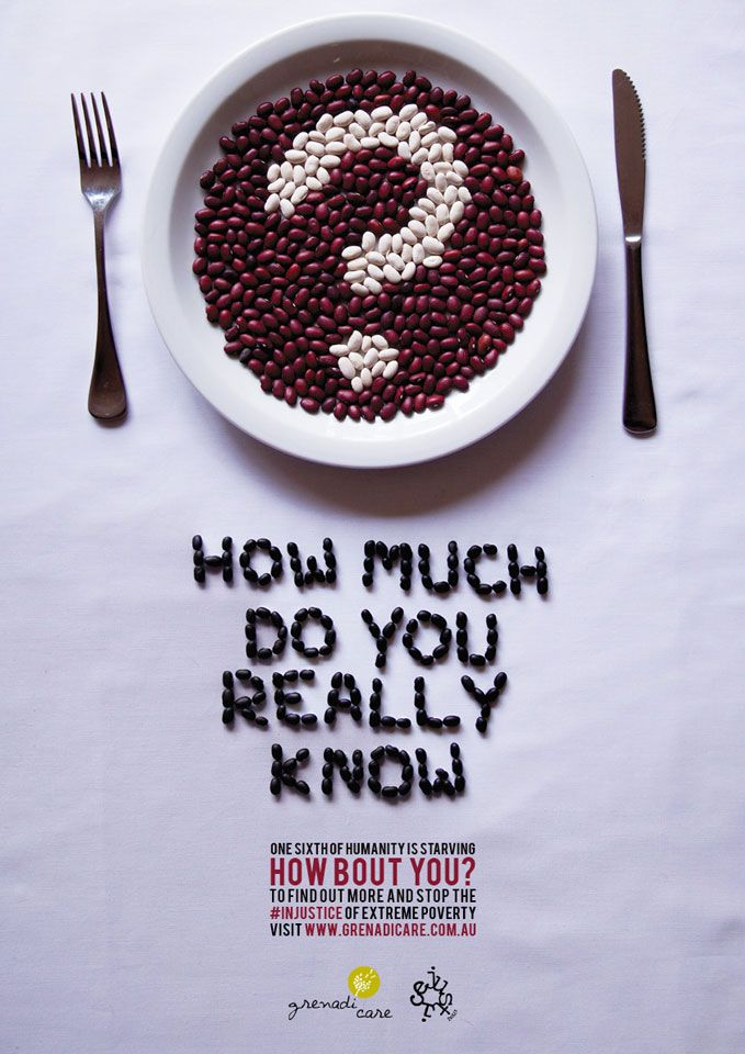 Poverty Awareness Poster