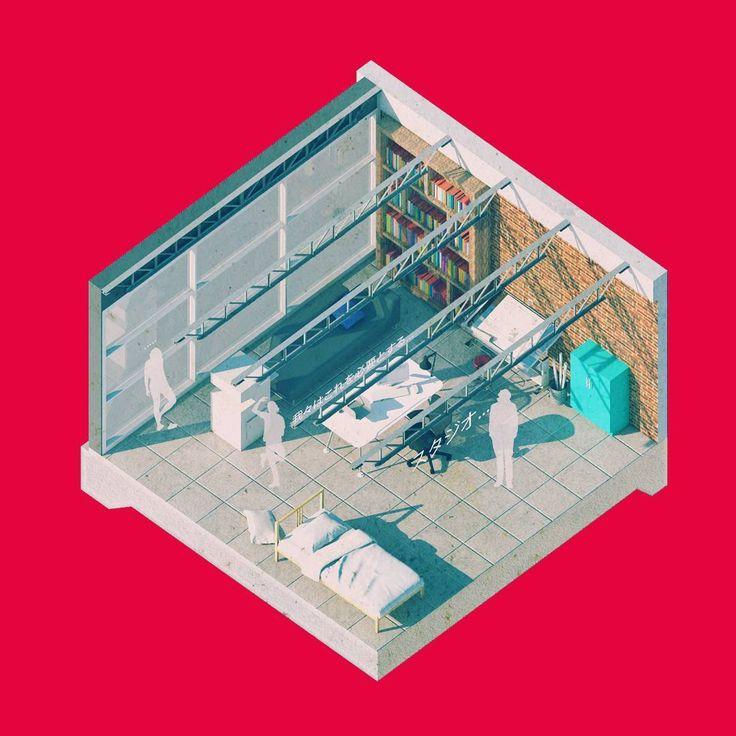 Special 18. 'Sutajio' _microspaces  #axonometric #archilovers #concept #culture #diagram #architecturelovers #architecture #archreporter #wisearchitecture #artandarq #arquitectura #iarchitectures #architecturevisualization #artchitecture #superuniversecity #reprogramming #urban #arc_only