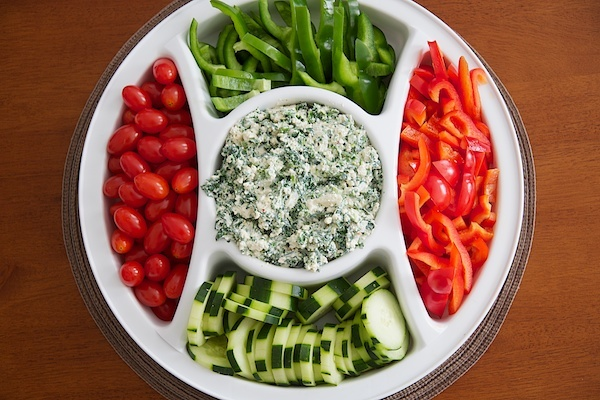 Spinach tofu dip ... must try this - maybe Cindy's baby shower?