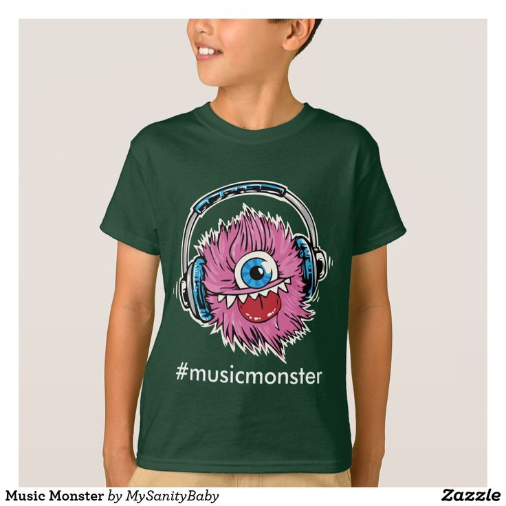 Music Monster T-Shirt