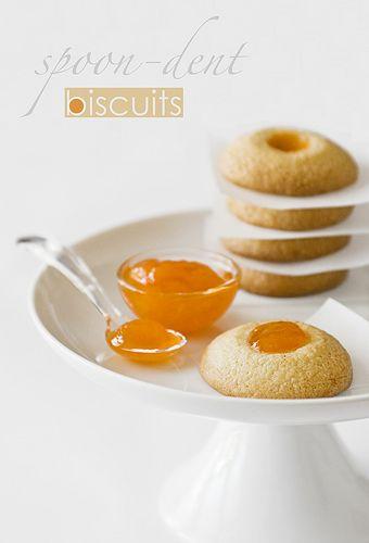 spoon dent cookies | Cookies {Decorated cookies} | Pinterest