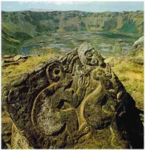 """Birdman"" at Easter Island"