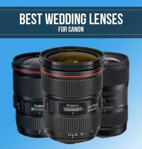 Best Canon Lenses for Wedding Photography | Smashing Camera