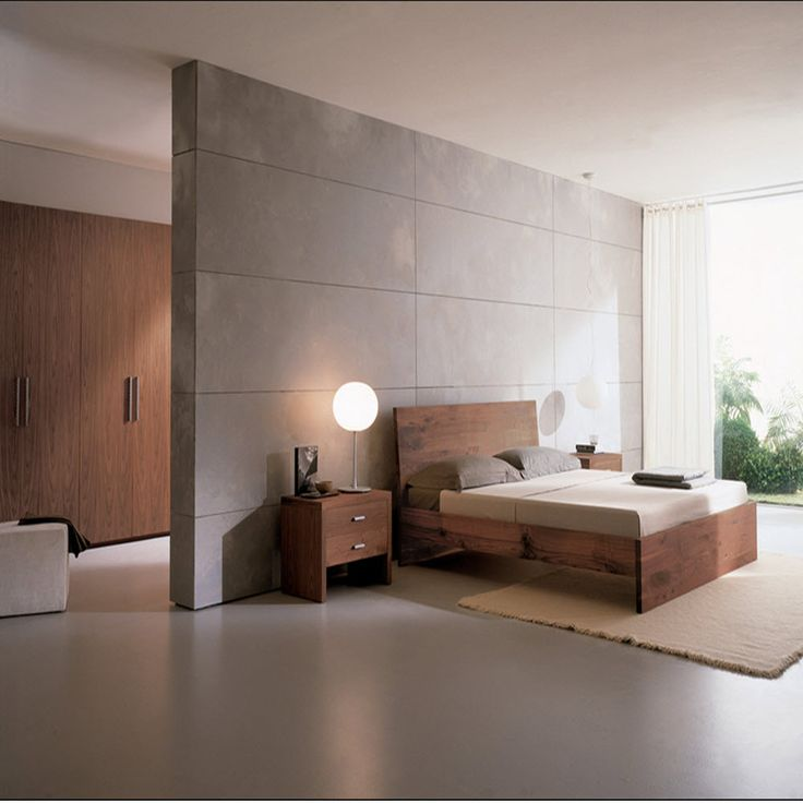 46 best images about minimalist bedrooms on pinterest for Modern wooden bedroom designs