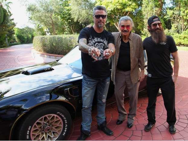 Aaron Kaufman Fast N' Loud   Burt Reynolds and the Bandit Car