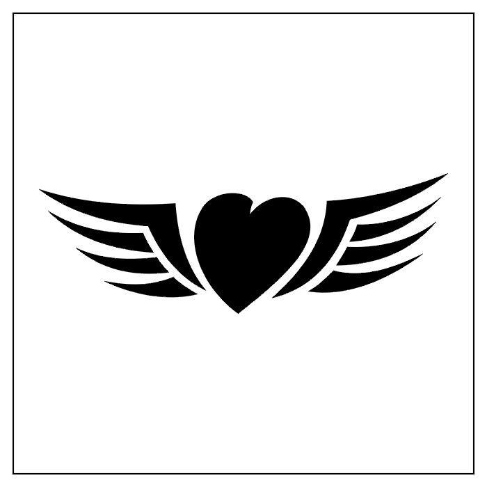 Tribal Heart & Wings | Tattoo Ideas | Pinterest | Heart