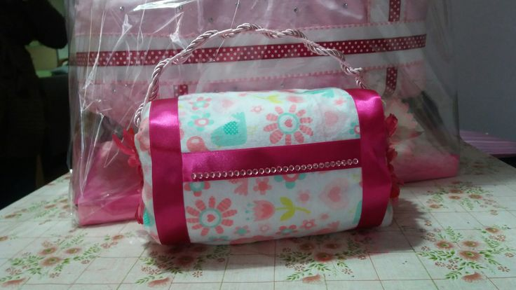 Diy diaper purse for girl