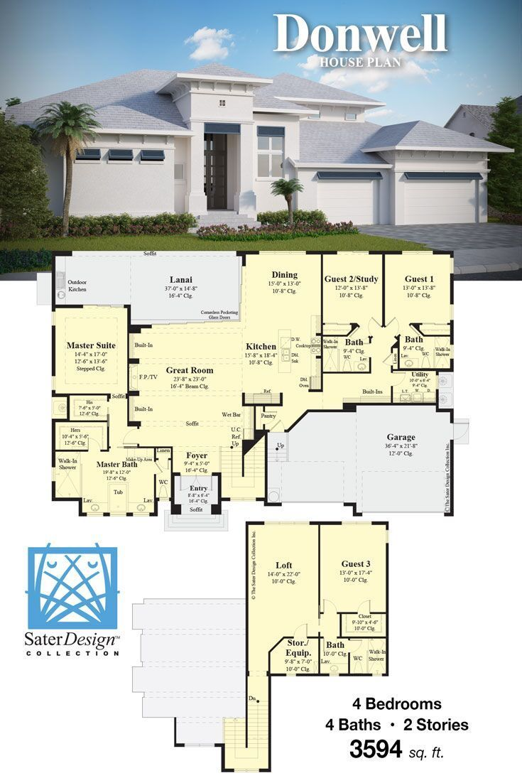 House Plans Home Plans Floor Plans Sater Design Collection House Plans New House Plans Floor Plans