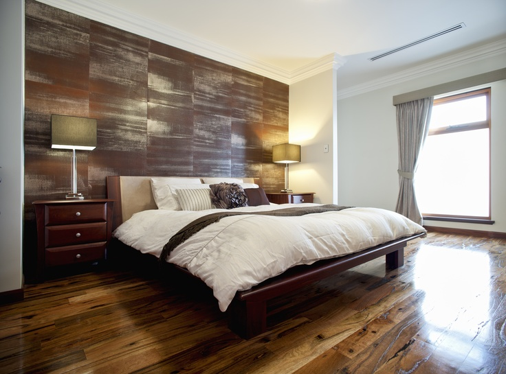 The stunning master bedroom, Wembley project