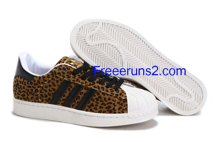 Full Of Half Off Cheap Adidas Skate Shoes,Adidas Superstar 2 FA SS YNG Animal Pack Dark Brown Leopard