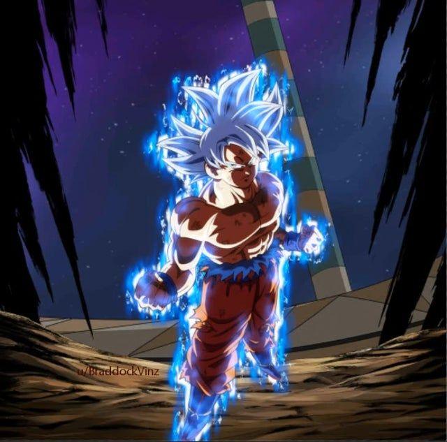 Gif Mui Goku Dragonballlegends Goku Gif Dbz