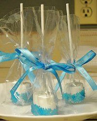 Edible Baby Shower Favors | Easy To Make Candy Pacifier Baby Shower Favors