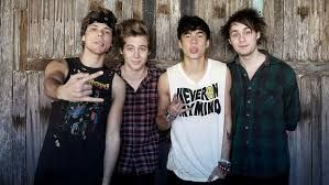 My favourtie band is 5 Seconds Of Summer. I'm going to see them live in June and I can't wait!