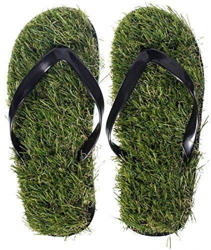 VENKON - Abgefahrene Gras Flip Flops mit hochwertigem Kunstrasen für mehr Barfuß-Gefühl immer und überall - http://on-line-kaufen.de/venkon/venkon-abgefahrene-gras-flip-flops-mit-fuer-mehr