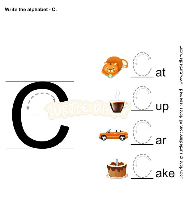 Letter Writing C - esl-efl Worksheets - preschool Worksheets
