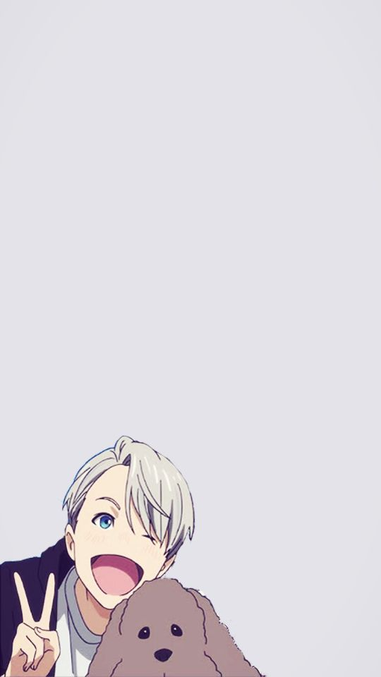 Yuri!!! on Ice - Phone Wallpaper / Lock Screen - Nikiforov Victor