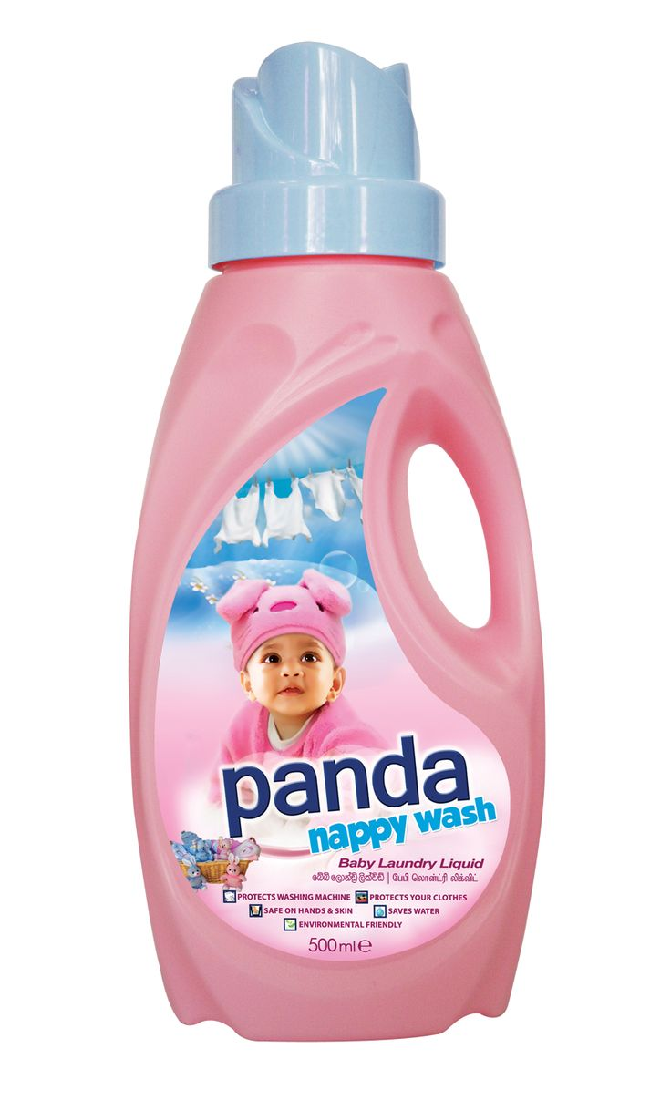 Panda Nappy Wash Is Extra Gentle On Your Little One's Delicate Fabrics And  Has No Harmful