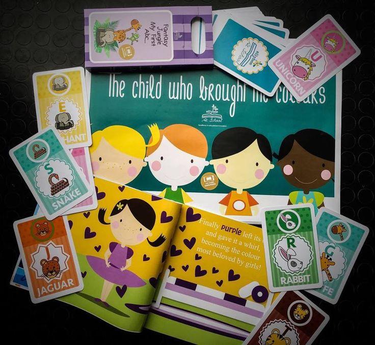 Nuovi libri e nuove flashcards per imparare l'#inglese divertendosi! www.ellybee.it