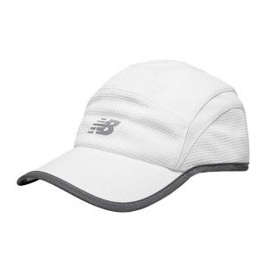 8ba4a836f4f New Balance 5 Panel Performance Cap - White
