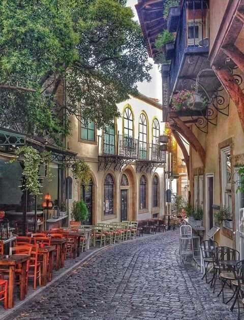XANTHI OLD TOWN. GREECE