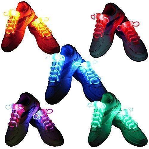 Oferta: 8.99€ Dto: -47%. Comprar Ofertas de iEFiEL 5 Pares de Cordones Luminosos de LED de Zapatos Zapatillos Resistente al Agua Seguro barato. ¡Mira las ofertas!