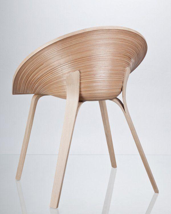 Czech design student Anna Stepankova has created the Tamashii Chair.