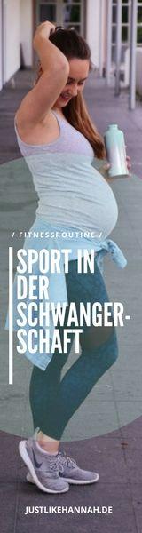 Tatsächlich war/bin ich auch Fitnessblogger...zurzeit eher so vom Typ Nilpferd ;-) Welchen Sport ich für die Schwangerschaft empfehlen kann, lest Ihr nun auf justlikehannah.de