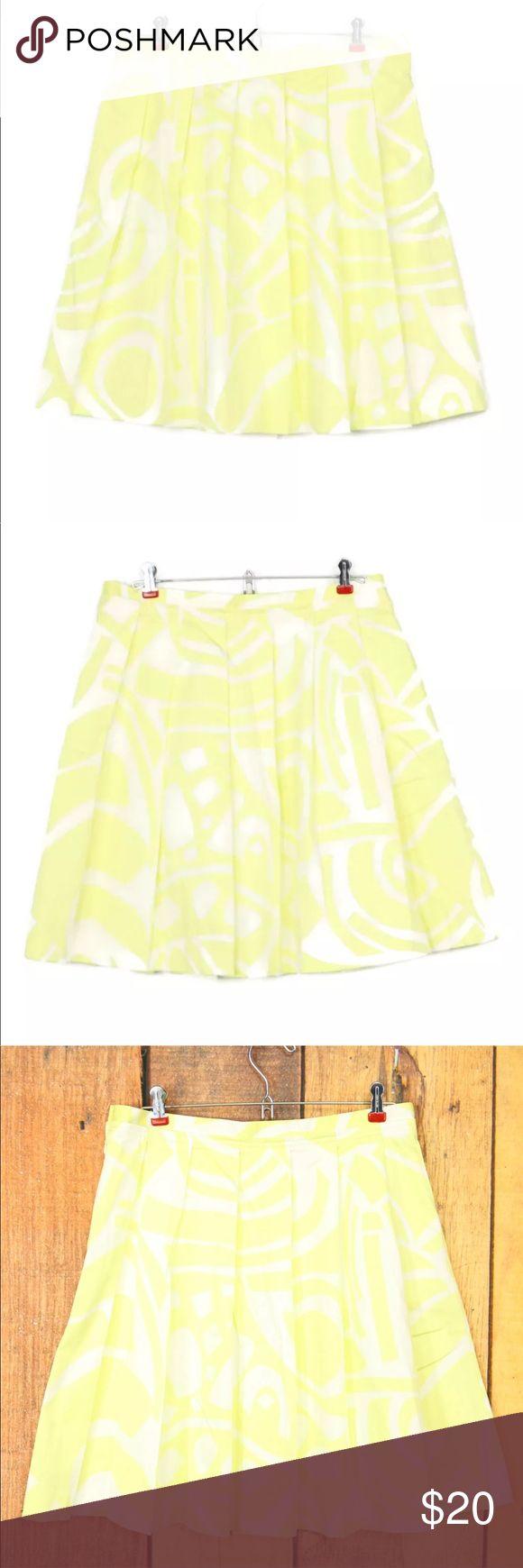 I just added this listing on Poshmark: Calvin Klein Skirt Yellow White 10 12 - 30 x 21. #shopmycloset #poshmark #fashion #shopping #style #forsale #Calvin Klein #Dresses & Skirts