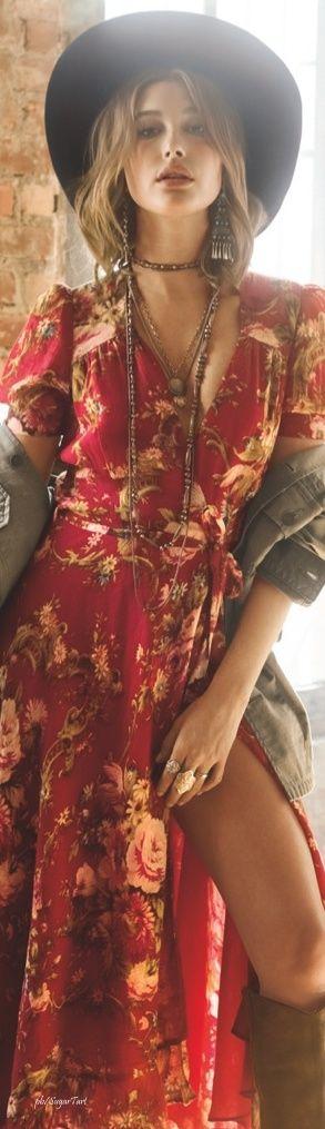 Sold Out NWOT $145 LAUREN DENIM & SUPPLY WOMENS FLORAL COTTON WRAP DRESS Sz M