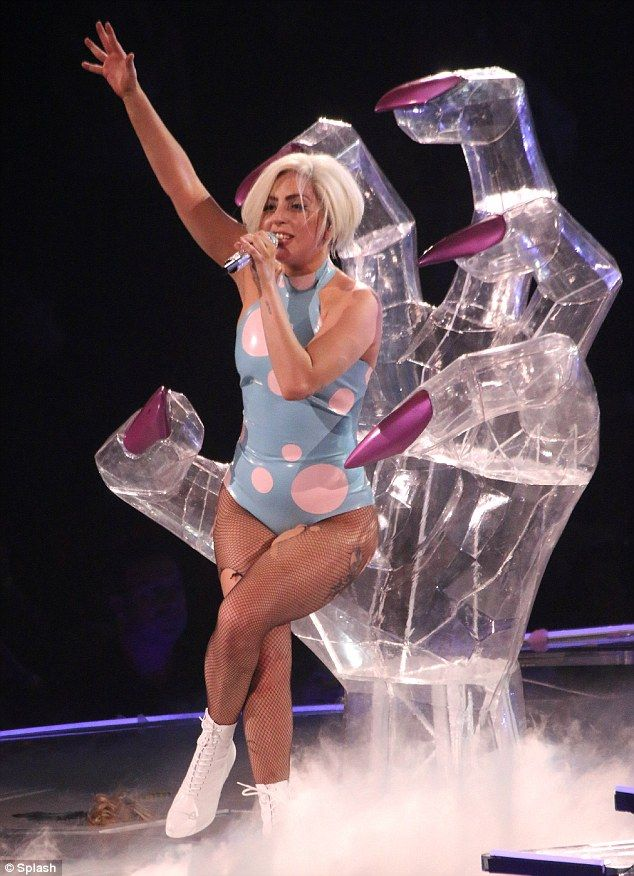Did anyone see @Lady Lady-gaga in concert last night? It was her first time performing on her Lucite Lux® stage!