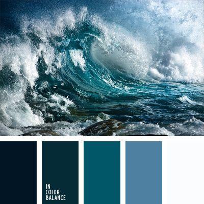 color agua oceánica, color aguamarina, color azul aguamarina, color azul turquí, color del agua, color esmeralda azulado, elección del color, matices del azul oscuro, paleta de colores monocromática, paleta del color azul oscuro monocromática.
