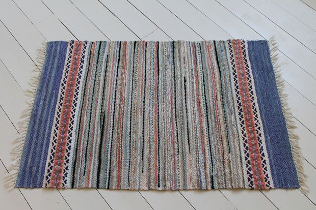rug from Smaland 1940s about 42x28 in; £125 out of a wonderful store in Scotland