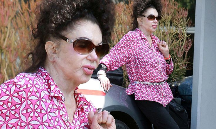 Jackie Stallone, 92, attends dance class in Santa Monica