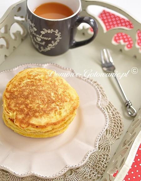 Marchewkowe pancakes