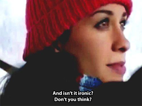 Ironic - Alanis Morissette.