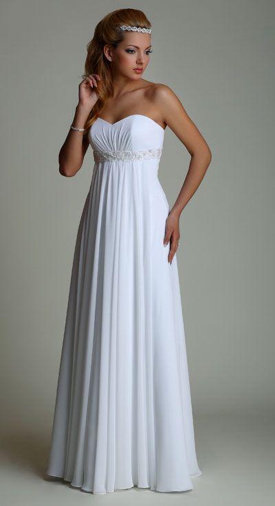 Свадебные платья для беременных (50 фото)
