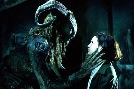 """""""Me? I've had so many names. Old names that only the wind and the trees can pronounce. I am the mountain, the forest and the earth. I am... I am a faun. Your most humble servant, Your Highness."""" - Pans Labyrinth <3 Beautiful Movie. Love Guillermo Del Toro"""