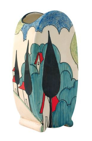 Love the beautiful ceramics by Clarice Cliff! <3