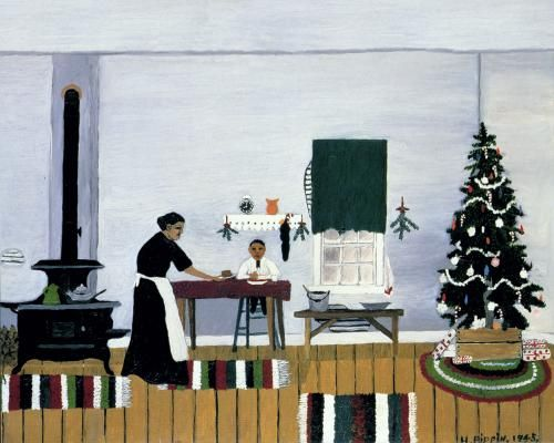 Christmas Morning Breakfast by Horace Pippin
