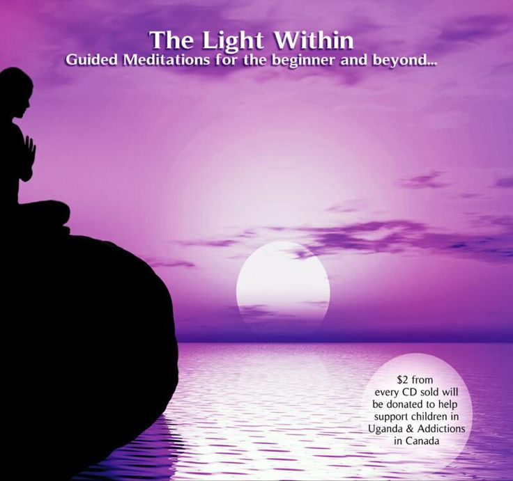 The Light Within Guided Meditation CD - Wendy Weymann