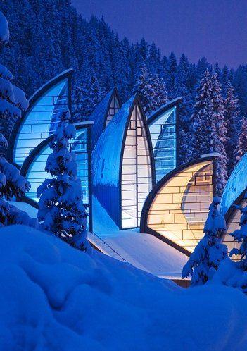 Tschuggen Grand Hotel, Arosa, Switzerland / I'd love to vacation here with @Lisa Shambrook
