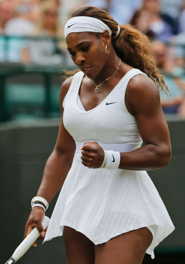 Serena Williams @JugamosTenis Wimbledon 2014